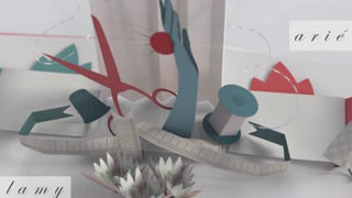 Plan de table - un superbe Popup 3D
