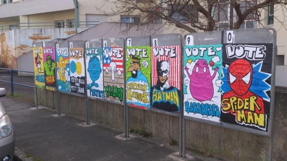 25 illustrations humoristiques sur Hollande vs Sarkozy 26