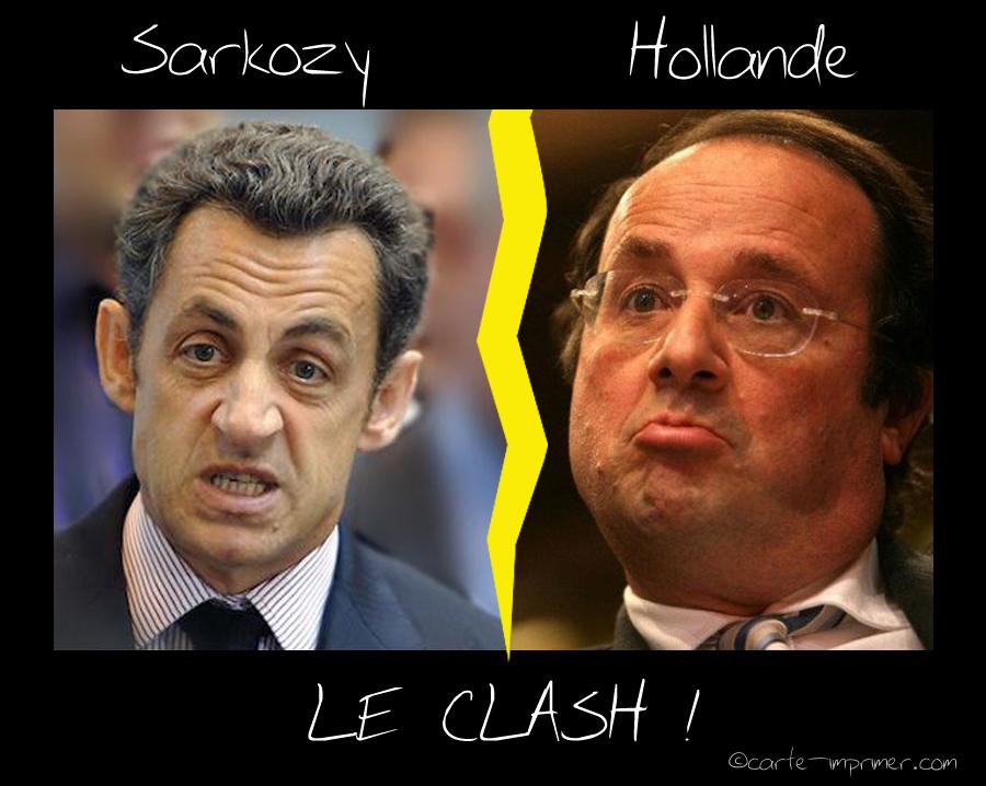 25 illustrations humoristiques sur Hollande vs Sarkozy 7