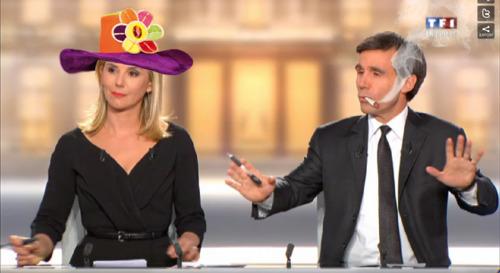 25 illustrations humoristiques sur Hollande vs Sarkozy 12