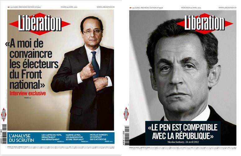 25 illustrations humoristiques sur Hollande vs Sarkozy 17