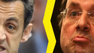 25 illustrations humoristiques sur Hollande vs Sarkozy