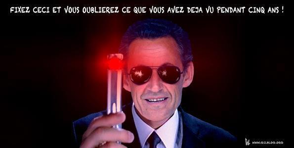 25 illustrations humoristiques sur Hollande vs Sarkozy 20