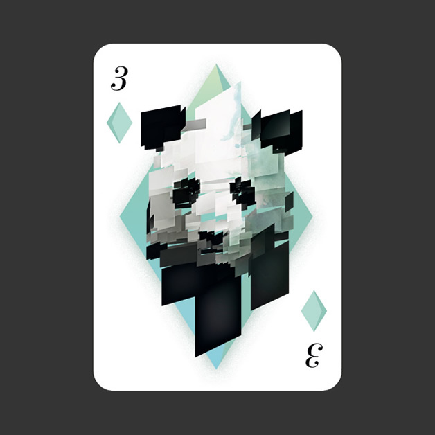 52 Aces - Jeu de cartes avec 52 illustrateurs 23