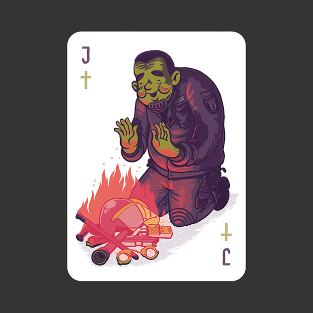 52 Aces - Jeu de cartes avec 52 illustrateurs 8