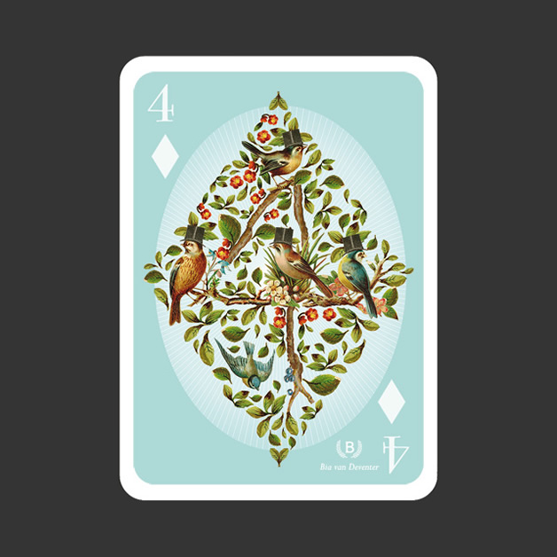 52 Aces - Jeu de cartes avec 52 illustrateurs 15