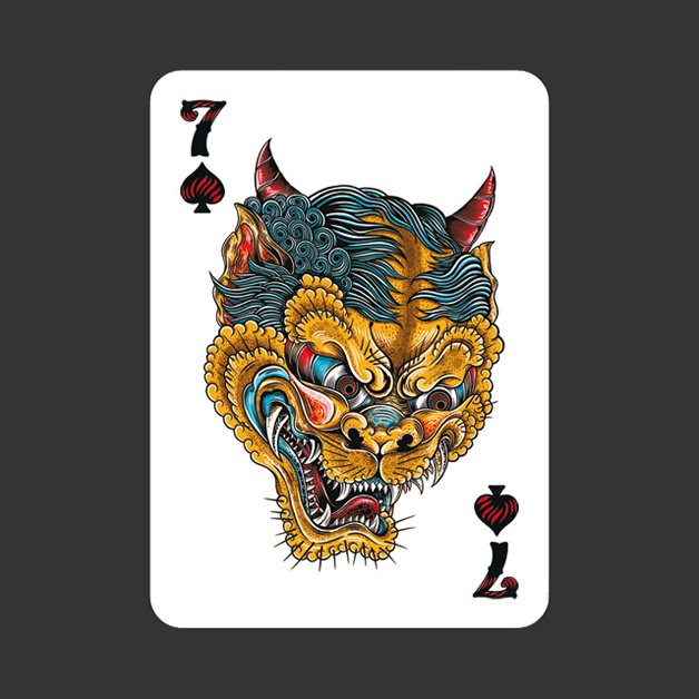 52 Aces - Jeu de cartes avec 52 illustrateurs 29