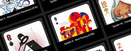 52 Aces - Jeu de cartes avec 52 illustrateurs 4