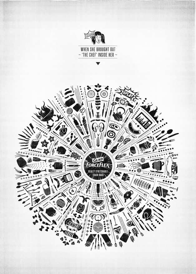 86 publicités designs et créatives de Mai 2012 3