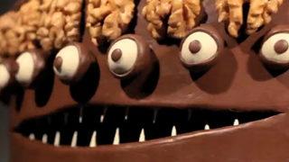 Le gâteau Caketrope en hommage à Tim Burton