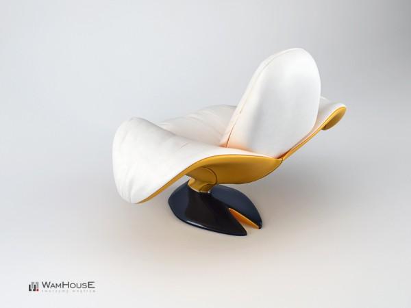 Un fauteuil en forme de Banane - Zjedzony 3
