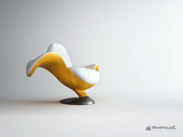Un fauteuil en forme de Banane - Zjedzony 5
