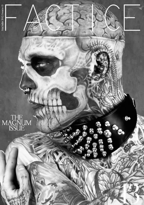 Zombie Boy pose pour Factice Magazine 12