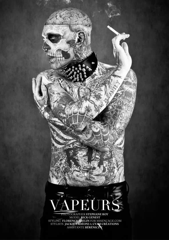 Zombie Boy pose pour Factice Magazine 13