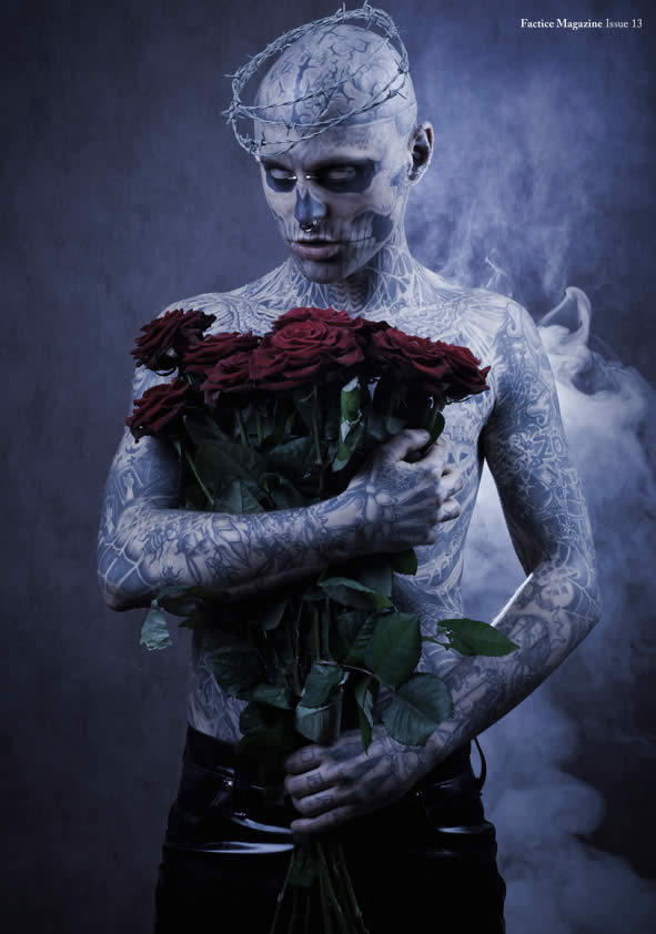 Zombie Boy pose pour Factice Magazine 3
