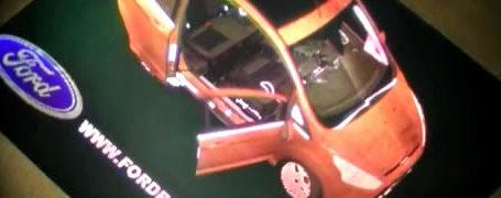 Ford fait sa pub avec des hologrammes 9