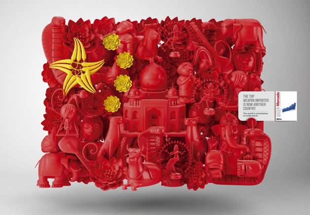 Marcado magazine créé une sculpture d'Obama  4