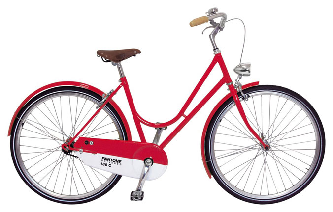 Les vélos Pantone ABICI 3