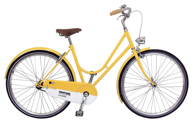 Les vélos Pantone ABICI 5