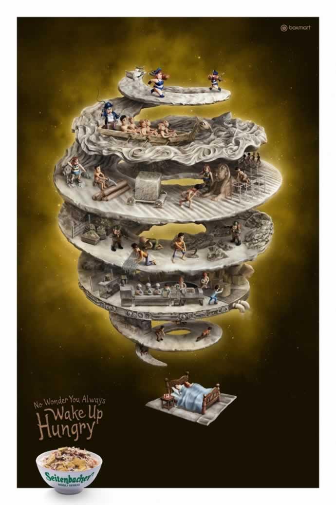 107 publicités designs et créatives de Juin 2012 90