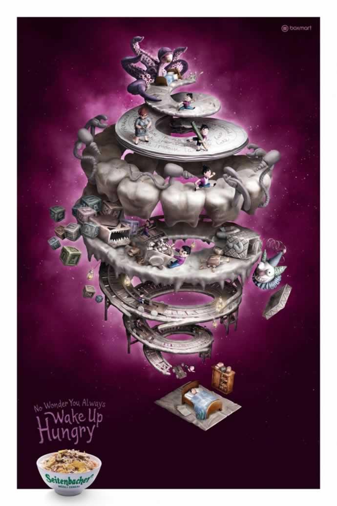 107 publicités designs et créatives de Juin 2012 91