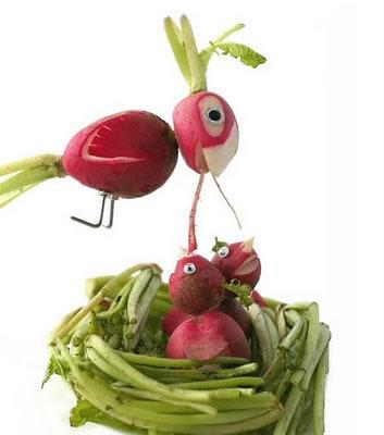 70 créations à base de nourriture - Food Art 12