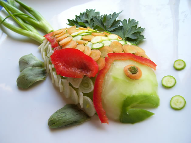 70 créations à base de nourriture - Food Art 13