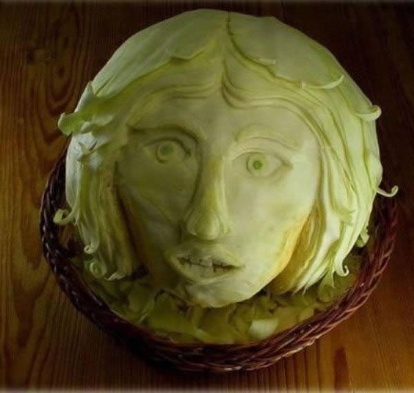 70 créations à base de nourriture - Food Art 21