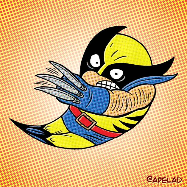 20 meilleurs détournements du nouveau logo Twitter 21