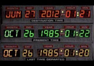 Quelqu'un a croisé Marty ou Doc hier ? ;-)
