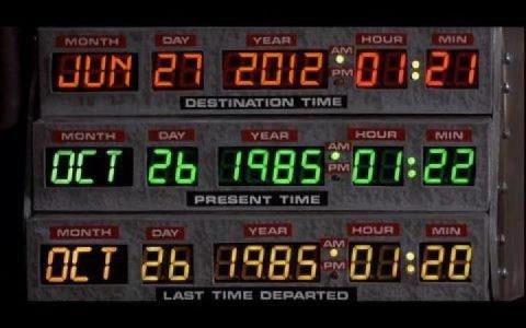 Quelqu'un a croisé Marty ou Doc hier ? ;-) 2
