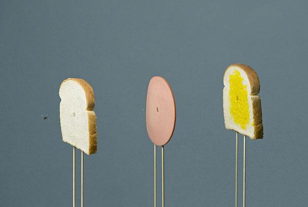 70 créations à base de nourriture - Food Art 34