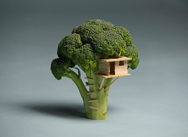 70 créations à base de nourriture - Food Art 35