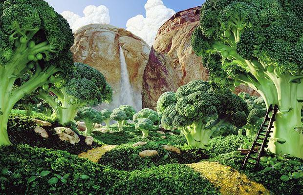70 créations à base de nourriture - Food Art 46