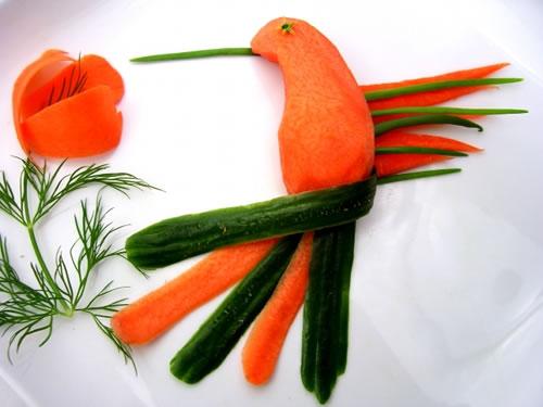 70 créations à base de nourriture - Food Art 60