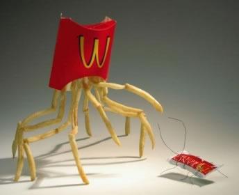 70 créations à base de nourriture - Food Art 62