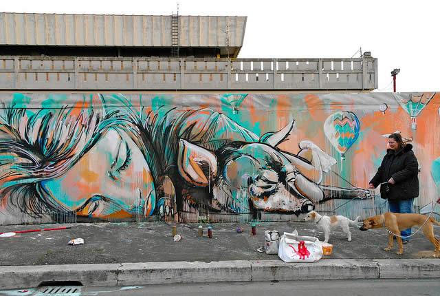 100 street-art fun et créatifs – vol10 34