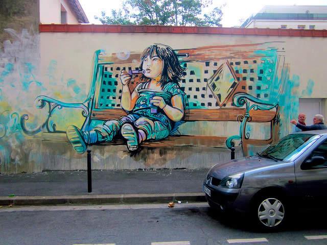100 street-art fun et créatifs – vol10 37