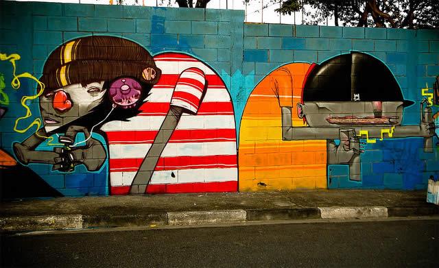 100 street-art fun et créatifs – vol10 46