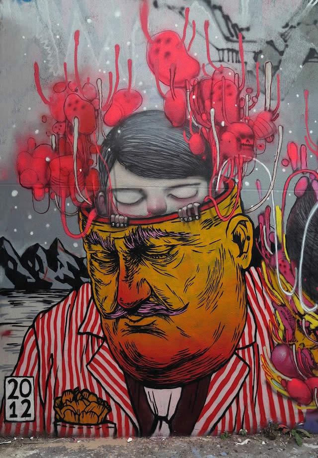 100 street-art fun et créatifs – vol10 10