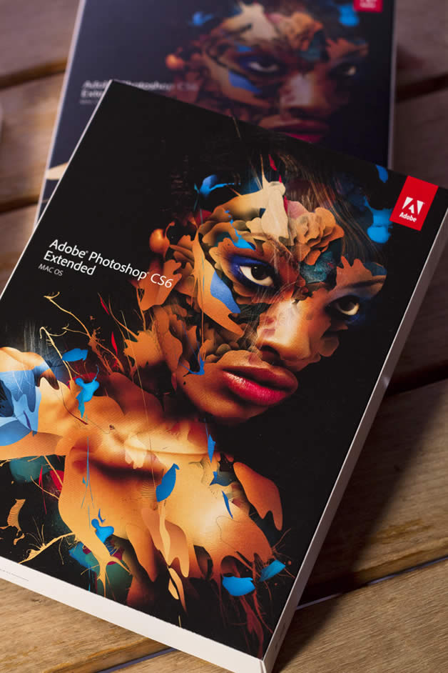 Adobe Photoshop CS6 Extended - Making-of de la couverture 2