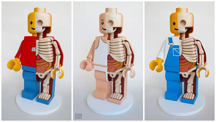 Anatomie de Lego géants 2