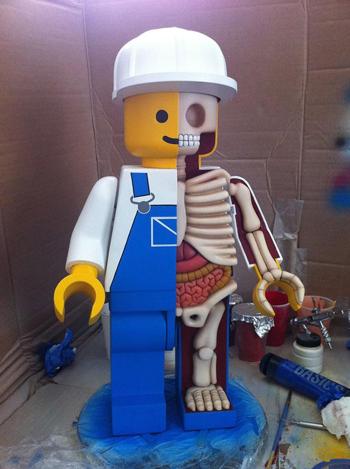 Anatomie de Lego géants 3