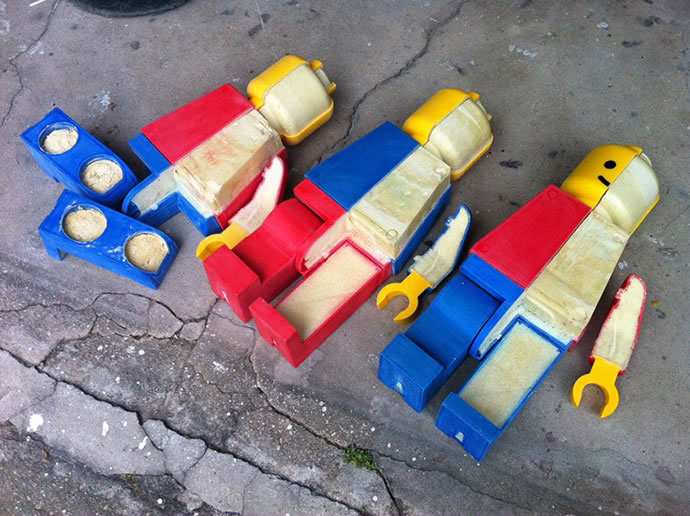 Anatomie de Lego géants 7