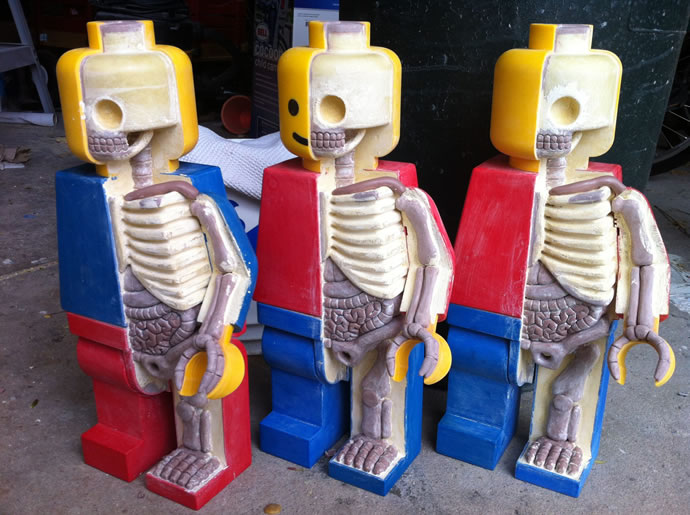 Anatomie de Lego géants 8