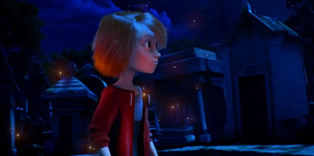 Magnifique animation - Les fantômes du Père Lachaise 2