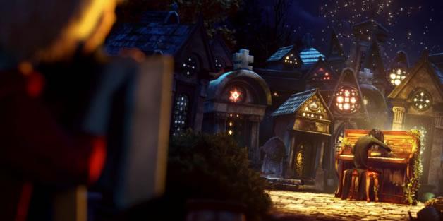Magnifique animation - Les fantômes du Père Lachaise 3