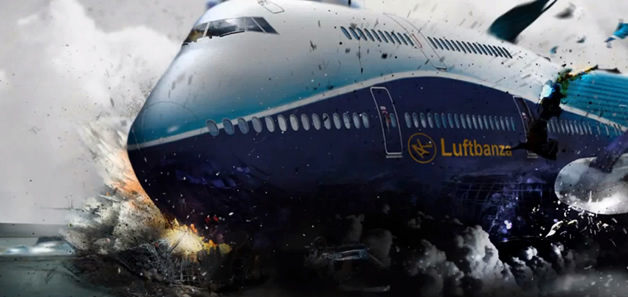 Luftbanza Airlines - #Photoshop 2