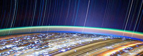 Photos longues poses de la Terre depuis l'espace 7