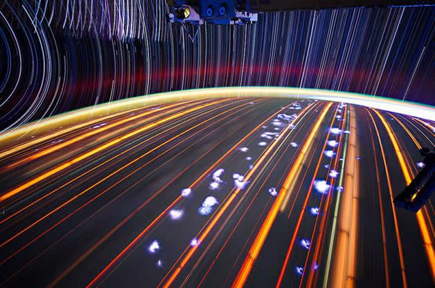 Photos longues poses de la Terre depuis l'espace 5